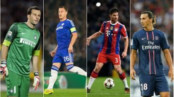 """Echipa de UCL doar din jucatori liberi! Cum arata cel mai tare """"11"""" al fotbalistilor care isi termina contractele: Ibra e capitan"""