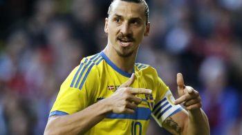 Zlatan poate rupe blestemul in barajul cu Danemarca. Atacantul este fata in fata cu adversarul caruia nu i-a dat gol niciodata