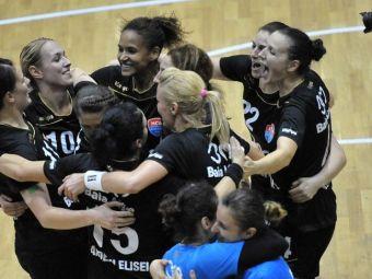 Baia Mare, victorie clara cu Krim Ljubljana in Chanmpions League! HCM 35-28 Krim! Romania are doua echipe in grupele principala
