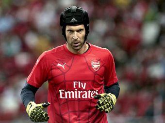 """Cea mai mare problema a lui Cech. Portarul lui Arsenal e unul dintre cei mai buni din lume, dar recunoaste: """"Nu prea aud"""""""