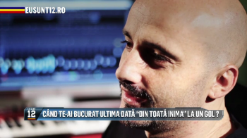 SUPER INTERVIU Eu Sunt 12: Cantecul pe care Calin de la Voltaj i-l dedica nationalei pentru Euro 2016!