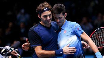 Spectacol total la Turneul Campionilor! Federer este in semifinale dupa victoria clara cu Djokovic