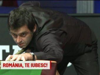 """""""Romania, te iubesc! E cel mai frumos weekend din viata mea!"""" Legendele din snooker s-au indragostit de Romania! VIDEO"""