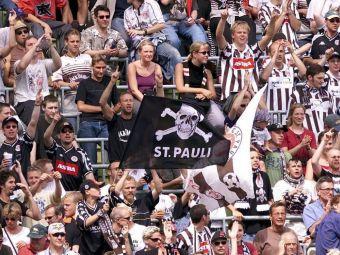 Becali nici nu vrea sa auda de o intelegere cu Armata, nemtii au scos banii pentru un steag. Cat a platit St Pauli pentru celebrul cap de mort