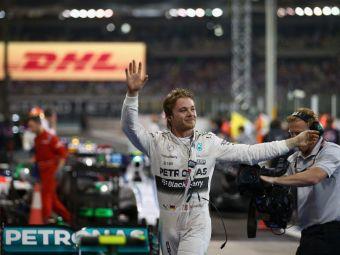 Nico Rosberg a castigat ultima etapa din Formula 1! A 12-a dubla pentru Mercedes in 2015! Cum arata clasamentele finale