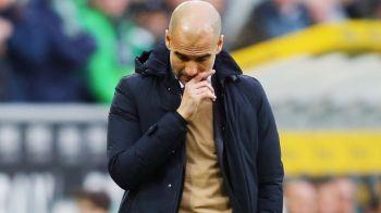 Reactia lui Pep Guardiola dupa ce Bayern a pierdut primul meci al sezonului in Bundesliga. Echipa sa a fost anihilata la Gladbach