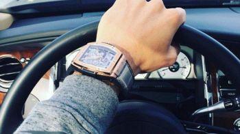 Ce a patit acest fotbalist dupa ce s-a afisat cu ceasul sau de 29.000 de lire pe Instagram