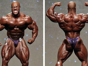 Nu se mai vede nimic! Transformare soc a campionului Mister Olympia, Phil Heath, in doar doua luni. Cum arata acum