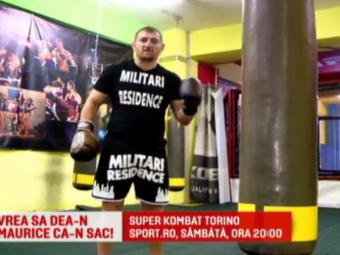 """""""Il fac Maria pe Maurice"""". Morosanu promite sa-si demoleze adversarul in ring, sambata, IN DIRECT la Sport.ro: """"Nu mai am rabdare, sunt in FORTA"""""""