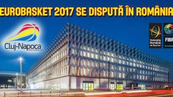 Veste URIASA pentru baschetul din Romania! O grupa de la Eurobasket 2017 va fi gazduita la Cluj