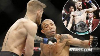 I-a luat doar 13 secunde ca sa-si DISTRUGA adversarul! Conor McGregor, campion in UFC dupa 12 ani! VIDEO