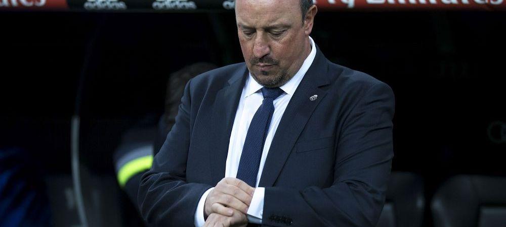 """Realul lui Benitez, mult sub cel al lui Ancelotti. Antrenorul intra in criza de timp, dar nu se gandeste la demitere: """"Se mai intampla sa pierzi"""""""