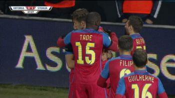 Steaua merge in semifinale dupa 1-0 cu Viitorul! Hagi, invins de doua ori in trei zile de Reghecampf! VIDEO: Golul lui Stanciu si ocaziile uriase ale Viitorului