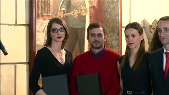 Aparitie spectaculoasa pentru campioanele Romaniei la scrima! Au renuntat la sabii pentru rochii si tocuri