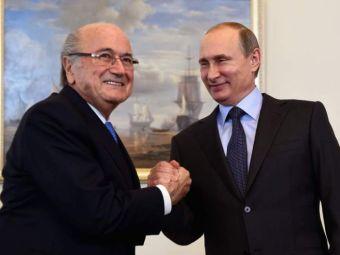 "Vladimir Putin se implica in scandalul FIFA. ""Ar merita Premiul Nobel pentru Pace."""