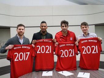 """Fara Pep, dar cu Muller, Martinez sau Alonso. Bayern le-a prelungit contractele celor mai importanti jucatori: """"Suntem foarte fericiti sa jucam aici"""""""