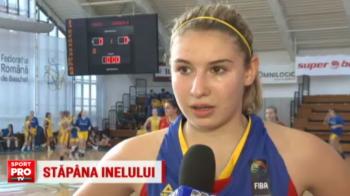 Fiica vitrega a lui Laurentiu Reghecampf, intre marile sperante ale sportului romanesc: Sarah joaca deja la nationala de baschet | VIDEO