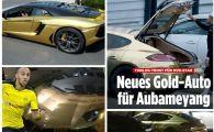 El e jucatorul de AUR al lui Dortmund! Aparitie SCLIPITOARE pe sosea! Cum arata masinile lui Aubameyang! VIDEO
