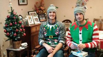 """Murray Christmas!"" Imaginea senzationala postata de Andy Murray. Cum s-a imbracat de Craciun :)"