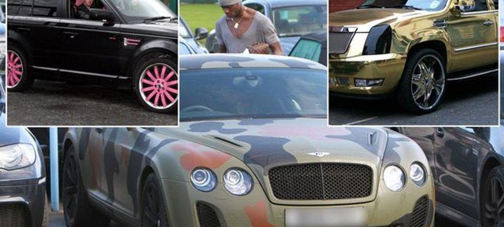 Cele mai TRASNITE masini de milioane de euro ale fotbalistilor! Cum au fost prinsi pe sosele
