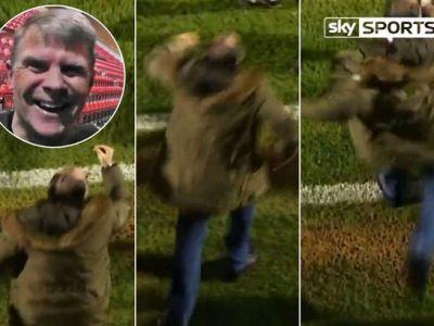 Scene fara precedent pe un teren de fotbal din Anglia! Presedintele unui club a sarit sa-l BATA pe secundul echipei! FOTO