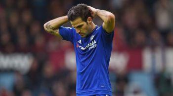O SUPERVEDETA e gata sa plece de la Chelsea! Derby in Serie A pentru Fabregas. Unde poate ajunge