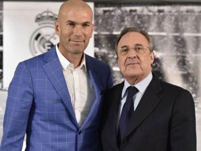 """""""Zinedine, acesta este stadionul tau! Asta e clubul tau!"""" Zidane, prezentat OFICIAL ca antrenor la Real Madrid! Benitez a fost demis dupa 2-2 cu Valencia"""