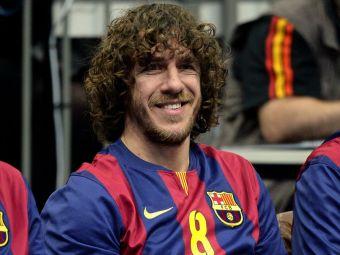 Carles Puyol a devenit tata pentru a doua oara. Fostul capitan al Barcelonei si sotia sa model au facut marele anunt
