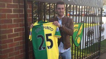 Fostul jucator al CFR-ului Ivo Pinto a ajuns in Premier League! Ce a spus dupa ce a semnat cu Norwich