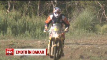 Gyenes a cazut, dar si-a revenit si a incheiat etapa! Ce s-a intamplat in Dakar la etapa in care s-a atins cel mai inalt punct
