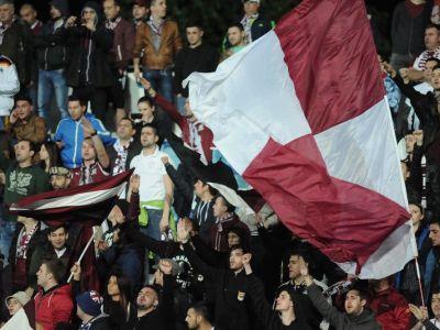 INCREDIBIL: Rapidistii au vrut sa se UNEASCA impotriva imnului secuiesc la meciul cu Sepsi Sf. Gheorghe, dar s-au luat la bataie