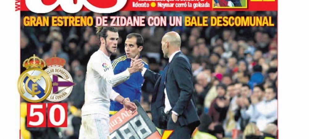 'MAGNIFIC!' Ce scriu ziarele din Spania dupa debutul SUPERB al lui Zidane la Real