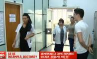 Borcea i-ar fi dat o prima :) Cum a reactionat Steliano Filip cand a vazut pe hol o doctorita sexy la vizita medicala VIDEO