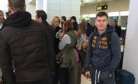 FOTO   Ultima achizitie si fostul capitan s-au alaturat lotului lui Reghecampf: Bourceanu a plecat cu intarziere in Turcia din cauza unei interdictii