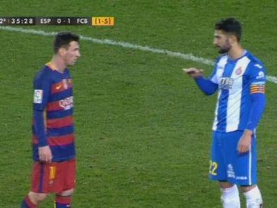 """FOTO Jucatorii lui Galca au incercat sa-l ENERVEZE pe Messi: """"Esti foarte mic"""" Ce replica a dat argentinianul"""