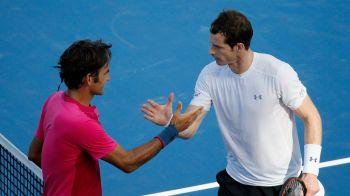 """""""Cand oamenii vin la tine cu astfel de sume si esti atat de tanar, poti face greseli"""" Murray si Federer vorbesc despre blaturile din tenis: """"Mi-as dori la nebunie sa aud niste nume"""""""