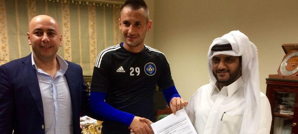 Dragos Grigore vrea la EURO via Qatar. Fundasul a decis sa ramana la Al Sailya, unde va castiga un munte de bani
