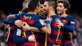 Athletic Bilbao 1-2 Barcelona, in Cupa Spaniei. Barca, fara Messi si Suarez, dar cu Neymar si Arda Turan, a castigat pe San Mames