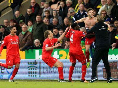Imaginea nebuniei dupa cel mai palpitant meci al inceputului de an in Premier League: Benteke i-a rupt ochelarii lui Klopp de bucurie :) VIDEO