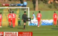 VIDEO Autogol caraghios in al doilea amical al iernii pentru Pandurii! Echipa lui Iordanescu Jr, invinsa de TSV Munchen, 2-1