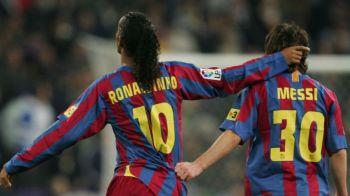 """""""Ronaldinho mi-a zis: El va fi cel mai bun fotbalist al tuturor timpurilor! I-am raspuns: Nu! Ce? Tu esti!"""" Momentul senzational in care Ronaldinho l-a descoperit pe Messi"""