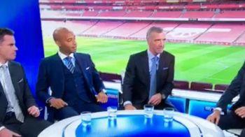 """""""E unul dintre cei mai buni fotbalisti care au jucat vreodata in Anglia!"""" Reactia lui Henry cand a aflat despre cine vorbeste toata lumea e de NEPRETUIT! Ce fata a facut :)"""