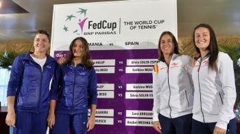 S-a stabilit si echipa Romaniei pentru meciul de FedCup: fara Halep, care se opereaza, dar cu fetele care au facut minuni in Canada