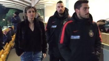 FOTO   Ultima achizitie a Stelei a privit din tribuna meciul cu Sturm Graz. Timo Gebhart urmeaza sa intre in programul de pregatire al echipei