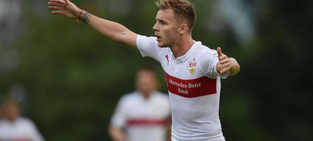 VIDEO Maxim, pasa de gol la prima atingere pentru Stuttgart! Romanul a contribuit la victoria cu Hamburg