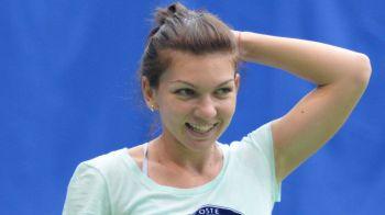 VIDEO | Simona Halep, la primul antrenament in Polivalenta din Cluj. Ajunsa pe locul 3 WTA, Simona se pregateste de meciurile cu Kvitova si Pliskova