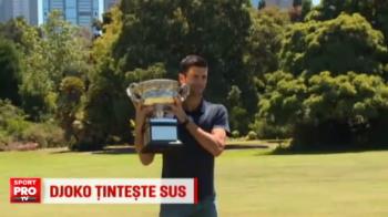 """Djokovic a iesit la iarba verde cu ultimul trofeu castigat. Sarbul s-a distrat la Melbourne; Tecau: """"In trei ani il poate depasi pe Federer"""""""