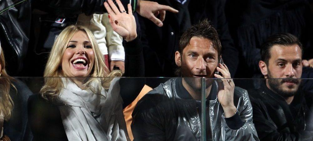 Francesco Totti si Ilary Blasi ar putea astepta un copil, anunta Corriere dello Sport