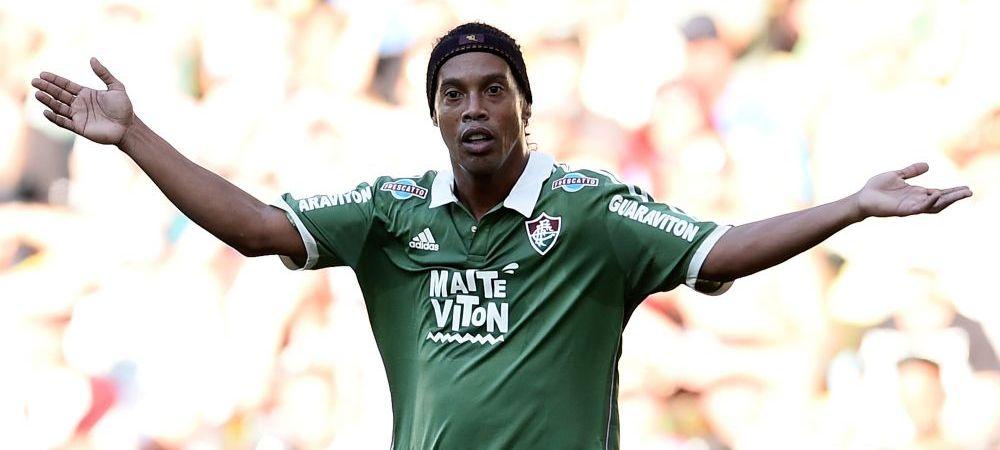 """Nu cred asa ceva!"" Tradarea de la Barca la Real Madrid pe care Ronaldinho refuza sa o accepte"