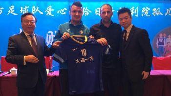 "Budescu, OFICIAL la Dalian! Va purta numarul 10 si il anunta pe Iordanescu: ""Vreau la Euro!"""